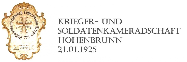 Krieger- und Soldatenkameradschaft Hohenbrunn